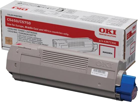 Oki C5650 / C5750 magenta