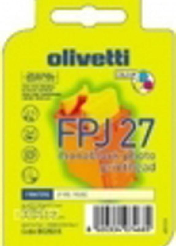 Olivetti FPJ 27 (B0203 K) 3 kleuren cartridge kleur