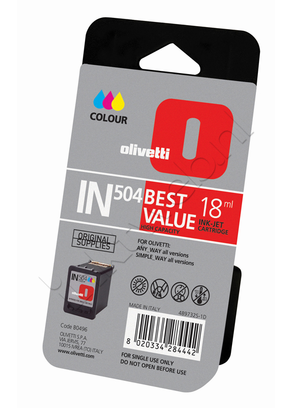 Olivetti IN504 kleur