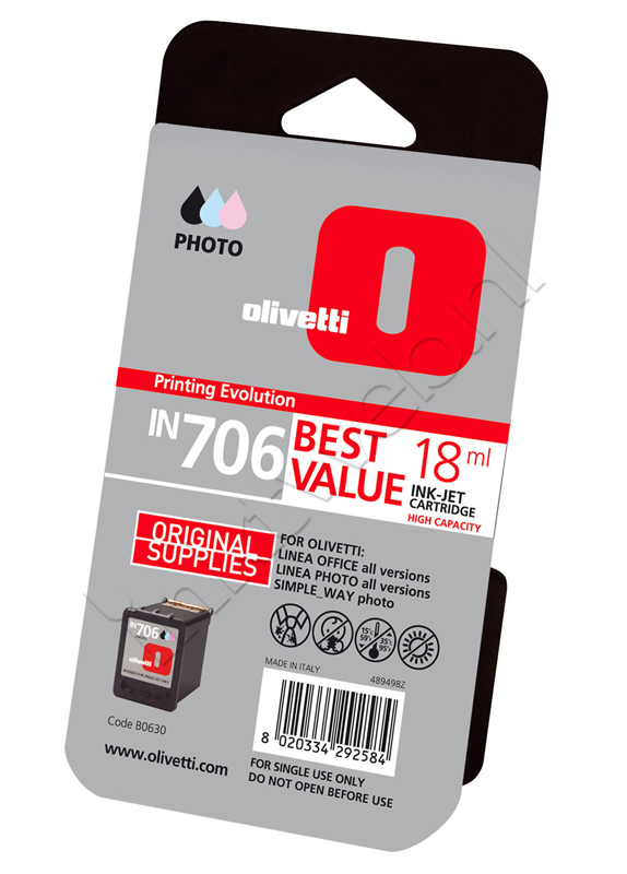 Olivetti B0630 Cartridge foto kleur