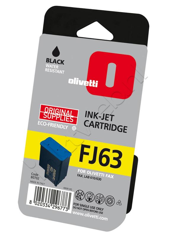 Olivetti FJ63 (B0702) zwart