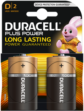 Duracell D Plus Power