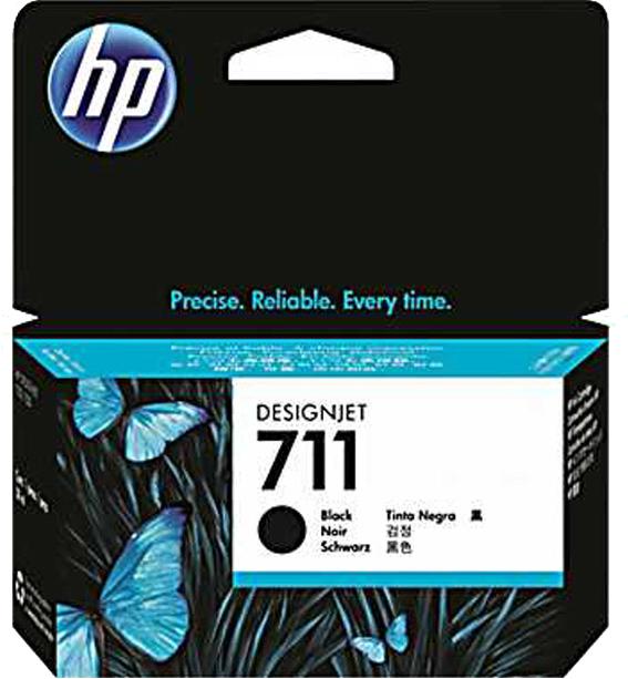 HP 711 zwart