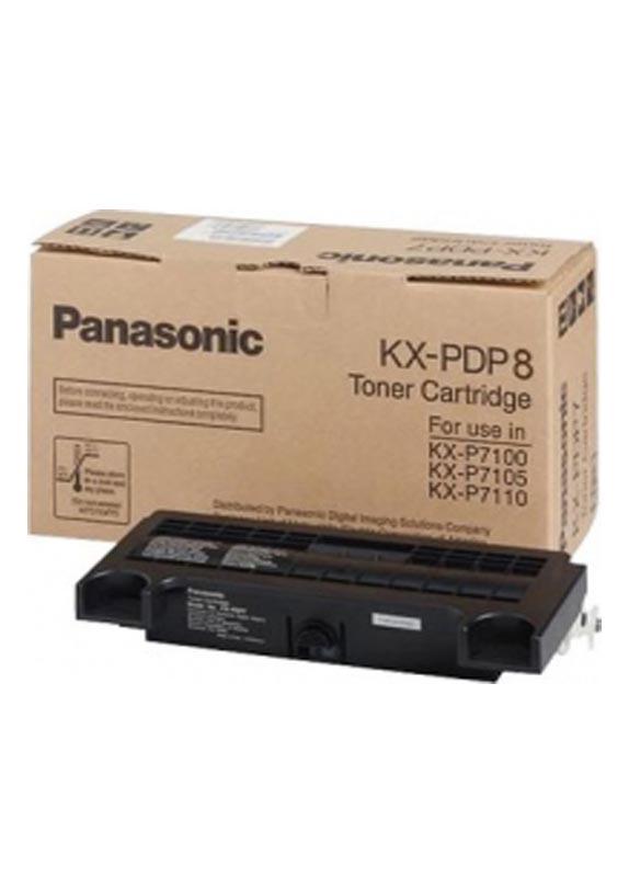 Panasonic KXPDP8 toner 7100 zwart