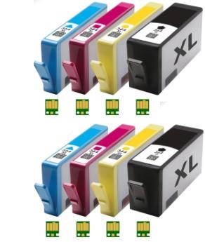 HP 364XL Multipack (2 sets) zwart en kleur