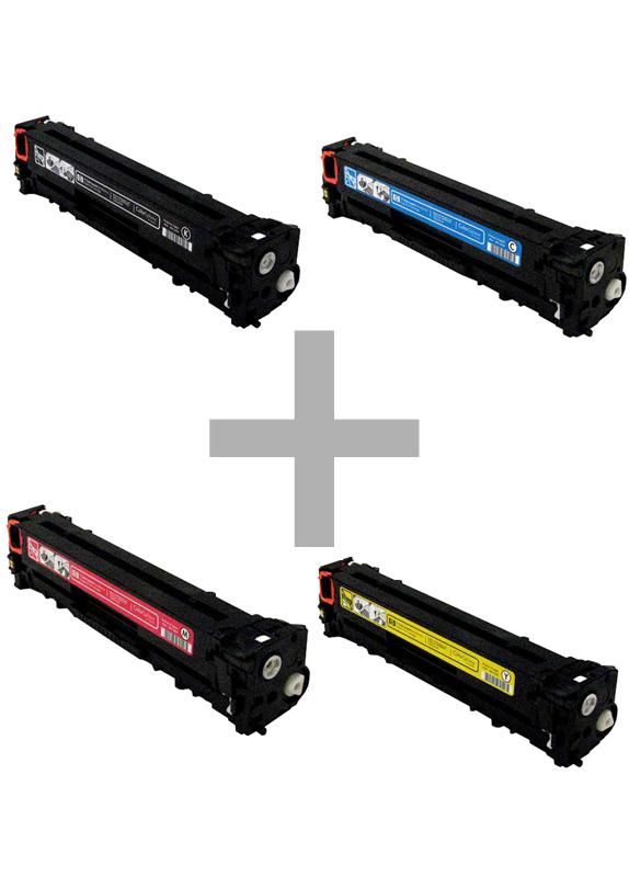 HP 125A Multipack zwart en kleur