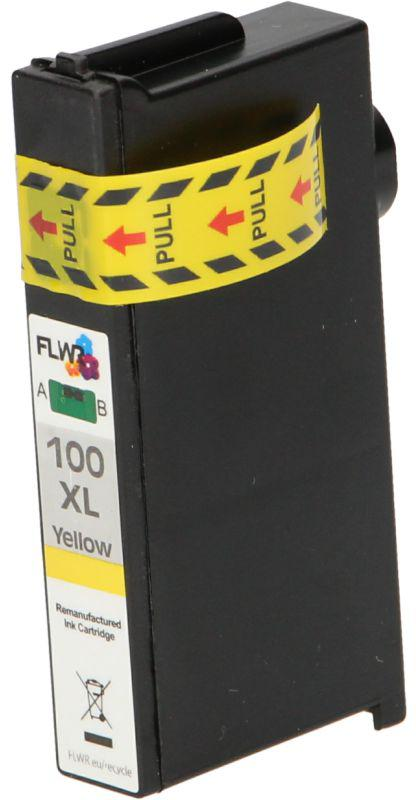 FLWR Lexmark 100XL Multipack zwart en kleur