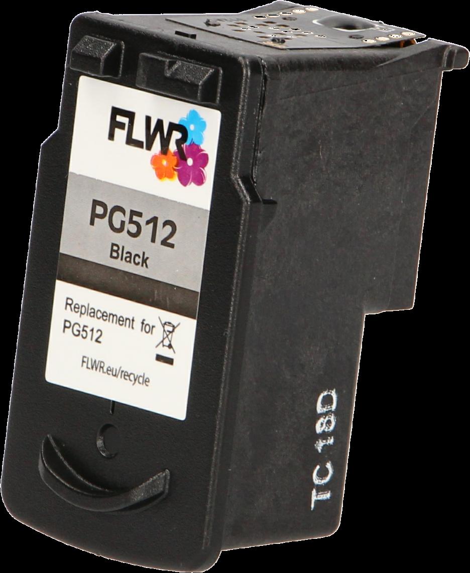 FLWR Canon PG-512 zwart