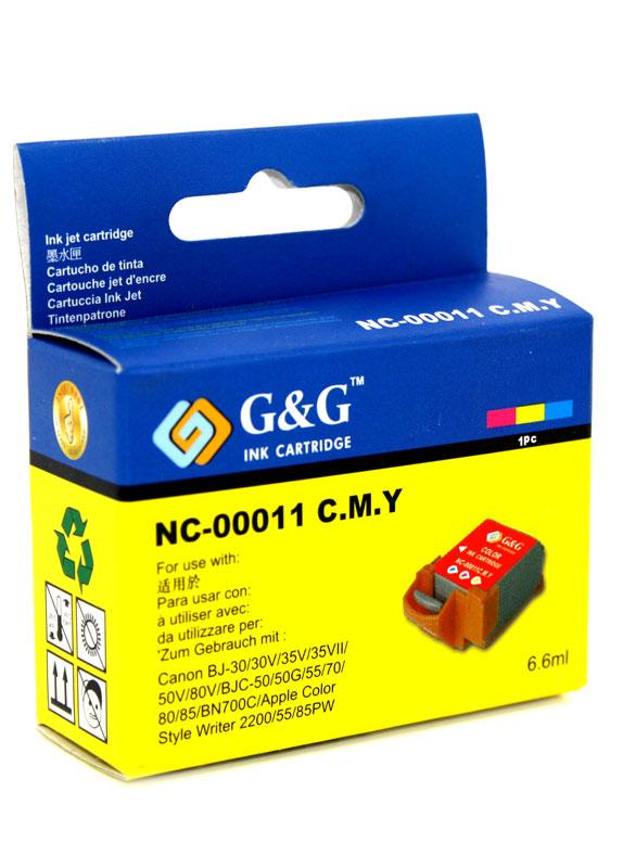 Huismerk Canon BCI-11C kleur