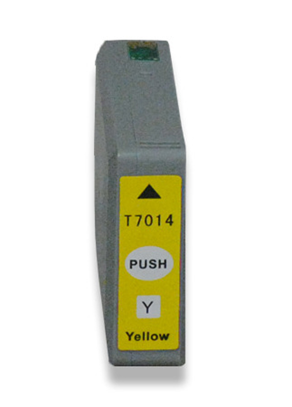 Huismerk Epson T7014 geel