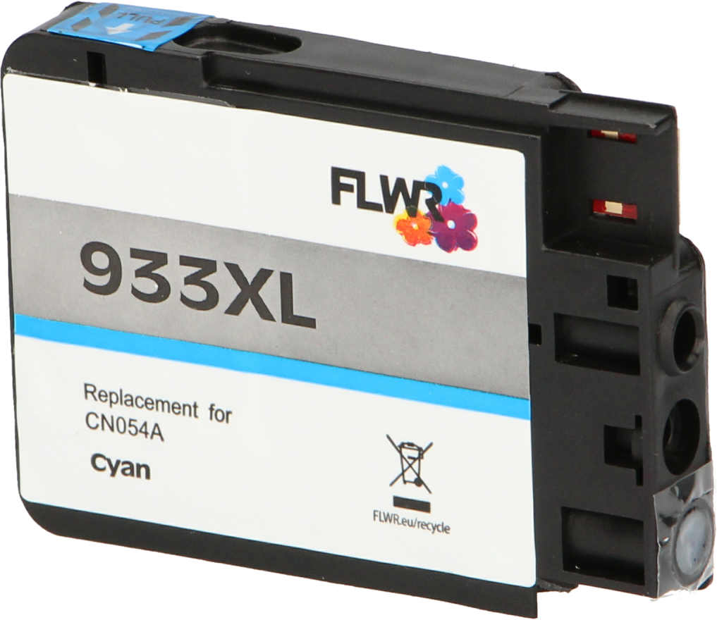 FLWR HP 933XL cyaan