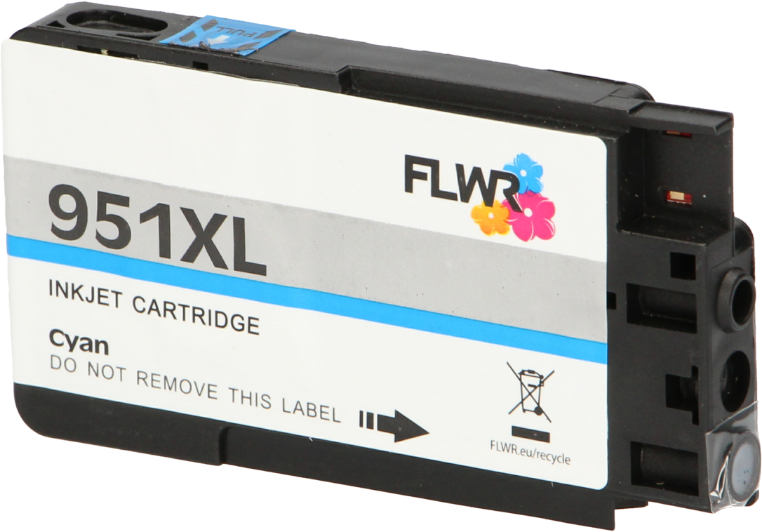 FLWR HP 951XL cyaan