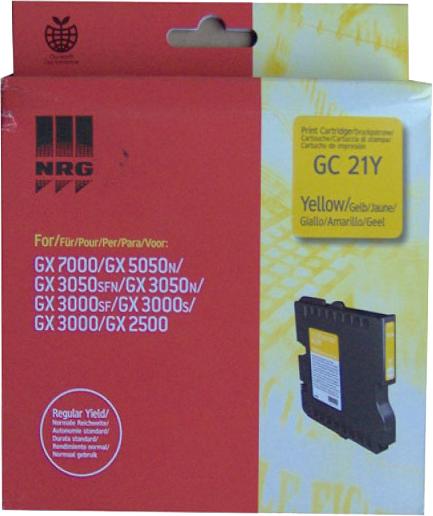 Ricoh GC-21Y geel