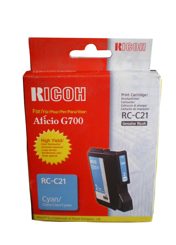 Ricoh Type RC-C21 cyaan