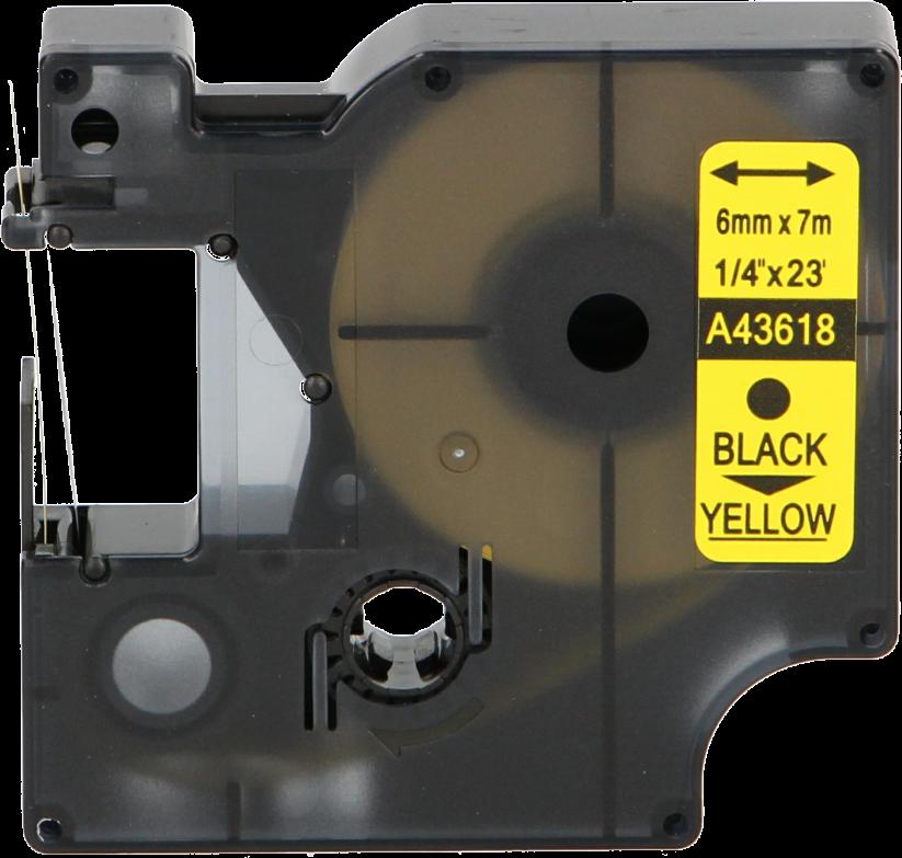 FLWR Dymo 43618 zwart