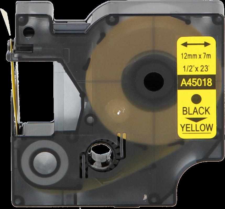 FLWR Dymo 45018 zwart