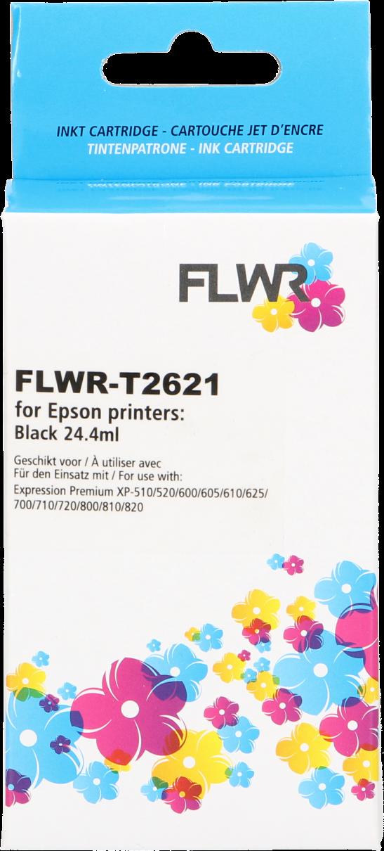 FLWR Epson 26XL zwart