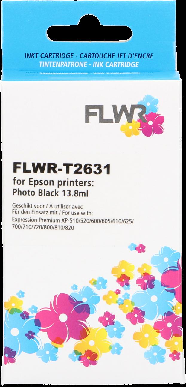 FLWR Epson 26XL foto zwart