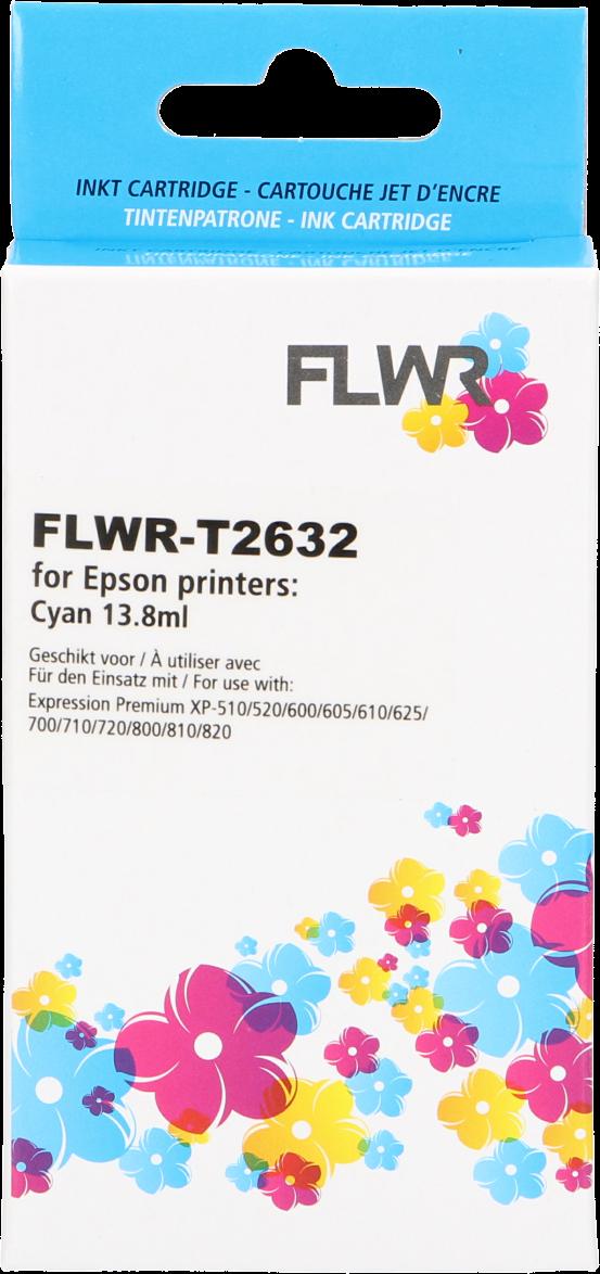 FLWR Epson 26XL cyaan