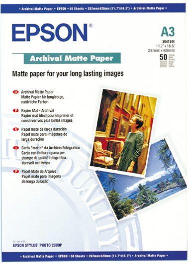 Epson Matte archival papier A3