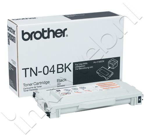Brother TN-04BK zwart