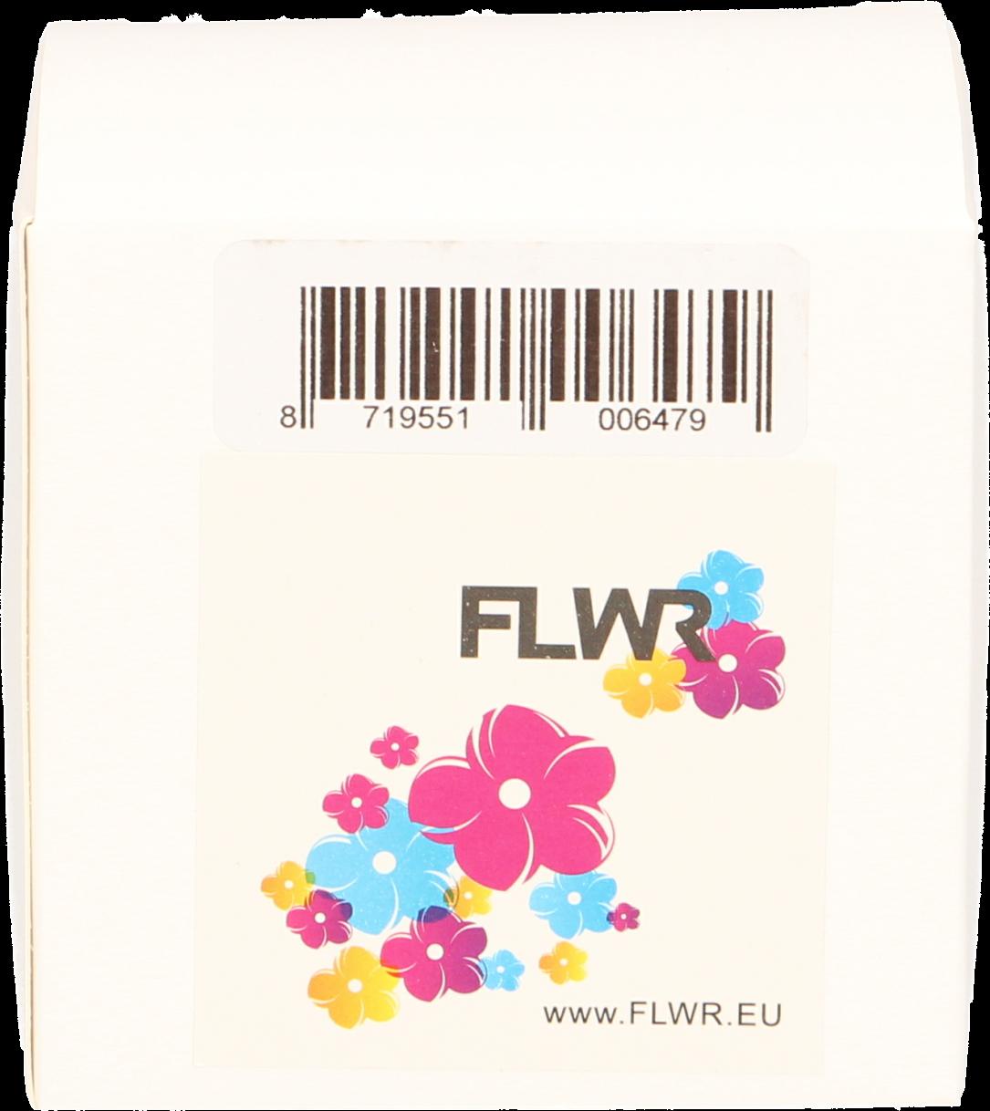 FLWR Dymo 99013 Adreslabel transparant