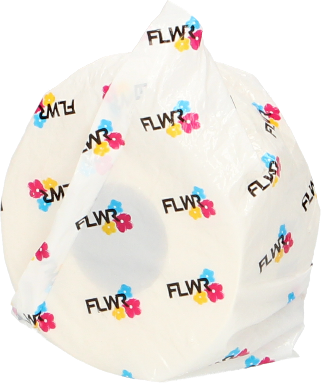 FLWR Dymo  99013 Adreslabel 89 mm x 36 mm  transparant