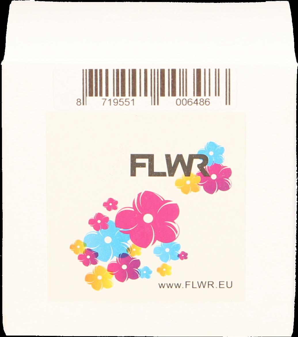 FLWR Dymo 99015 Adreslabel vierkant wit