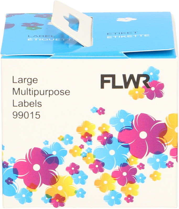 FLWR Dymo  99015 Adreslabel 54 mm x 70 mm wit
