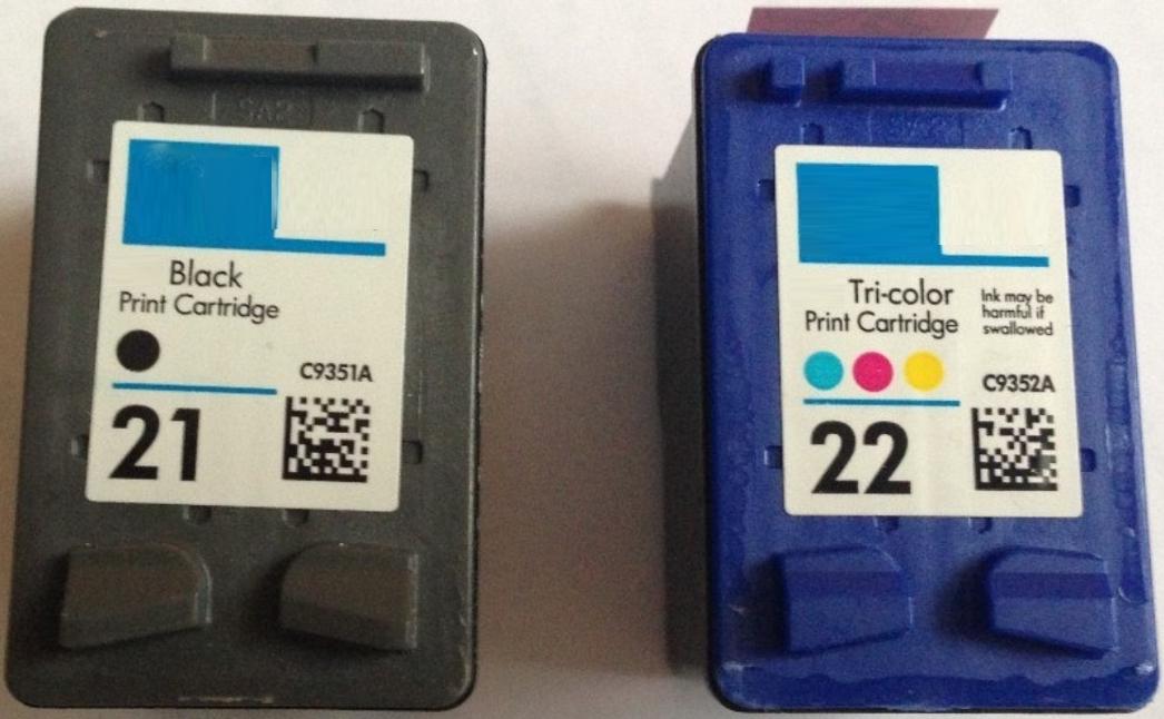 HP 21XL en 22XL Multipack zwart en kleur