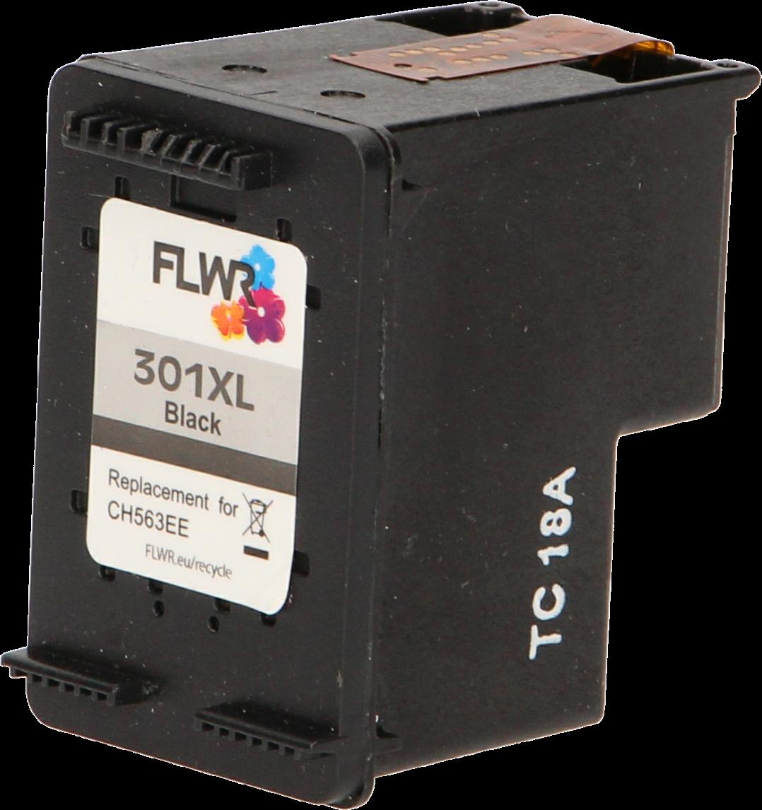 FLWR HP 301XL Multipack zwart en kleur