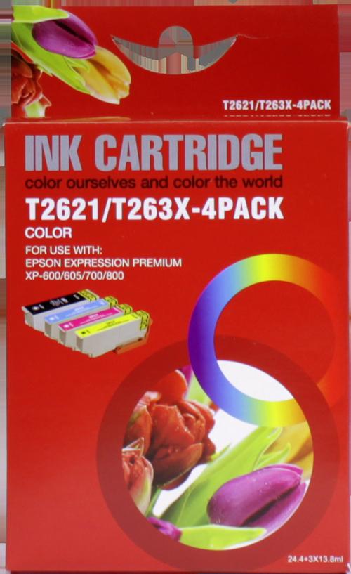 Epson 26XL Multipack zwart en kleur