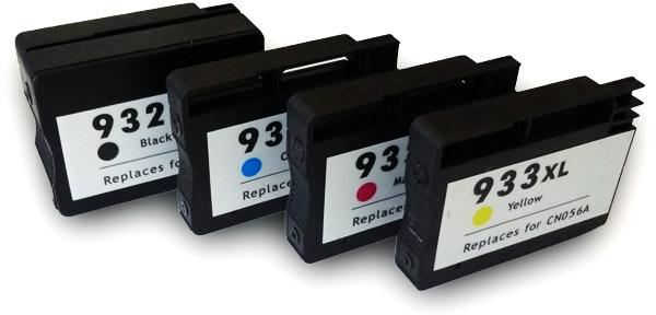 HP 932XL / 933XL Multipack zwart en kleur