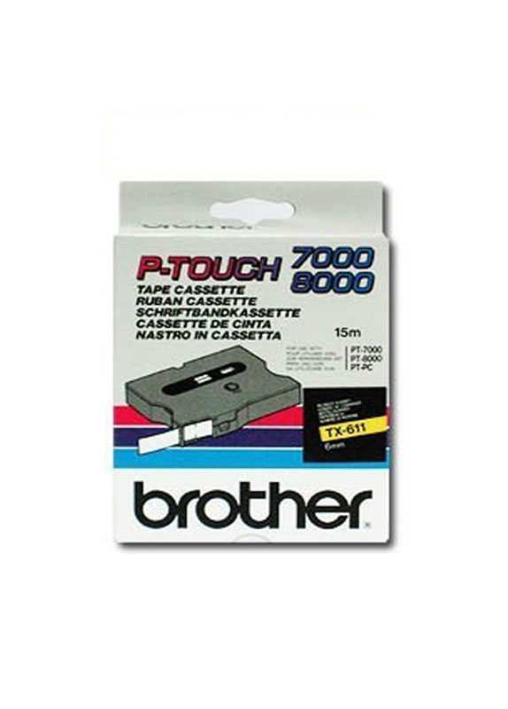 Brother TX-611 zwart