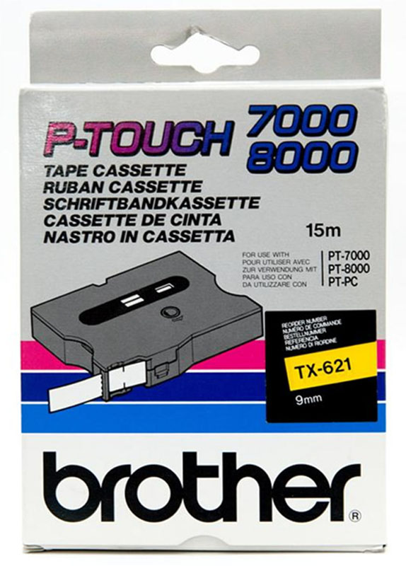Brother TX-621 zwart