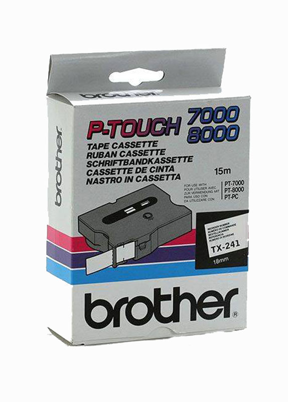 Brother TX-241 zwart