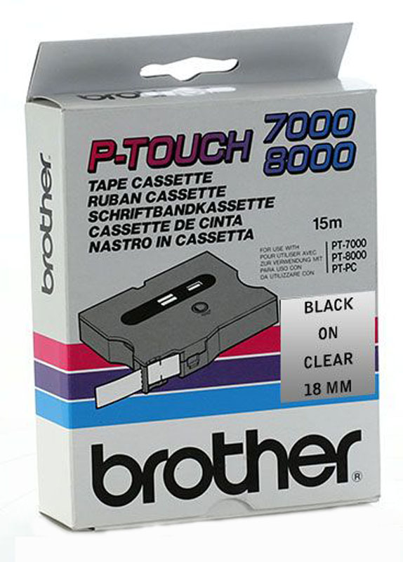 Brother TX-141 zwart