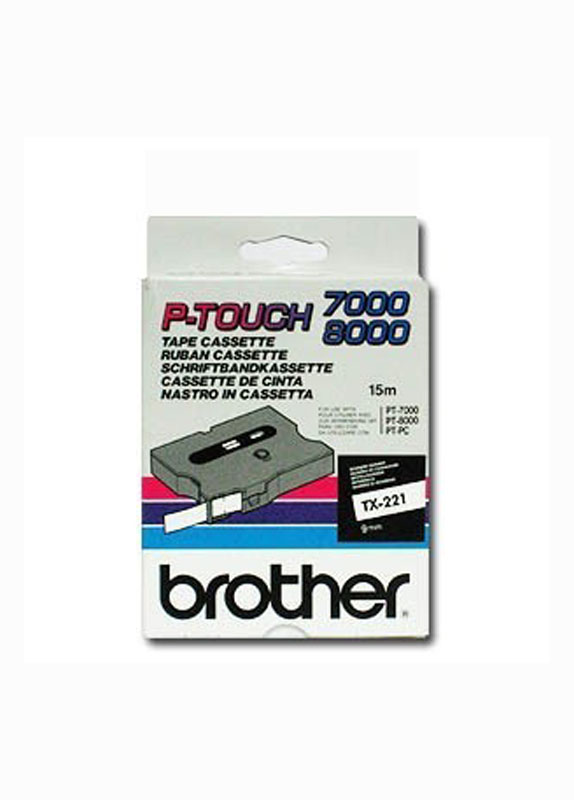 Brother TX-221 zwart