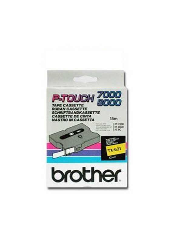 Brother TX-631 zwart
