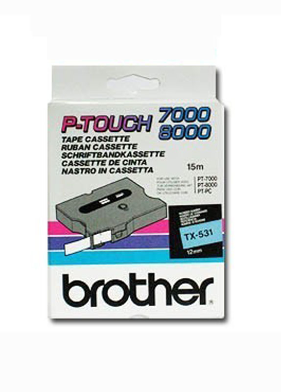 Brother TX-531 zwart