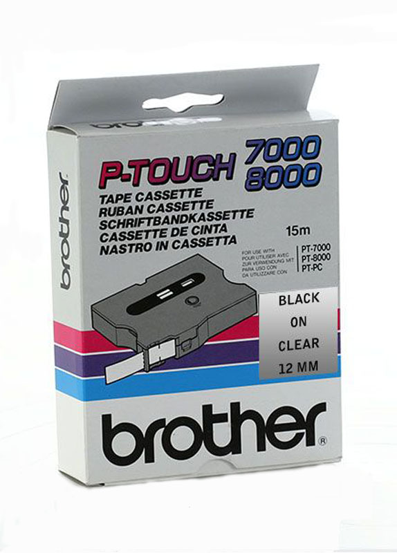 Brother TX-131 zwart