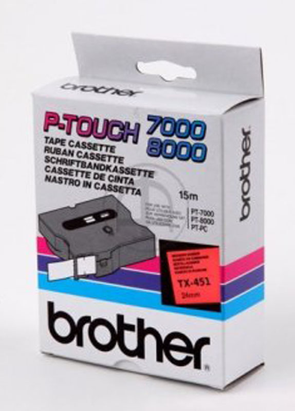 Brother TX-451 zwart