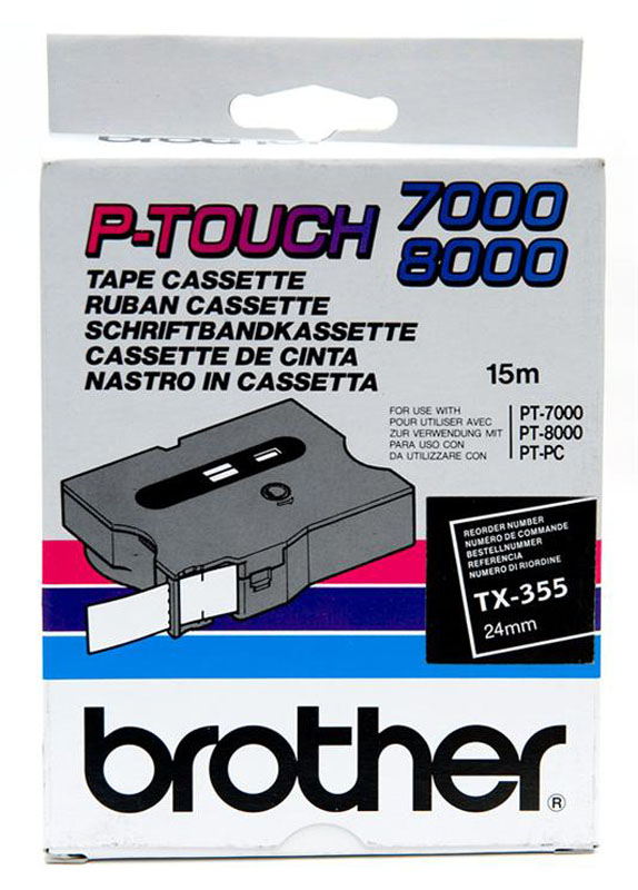 Brother TX-355 wit