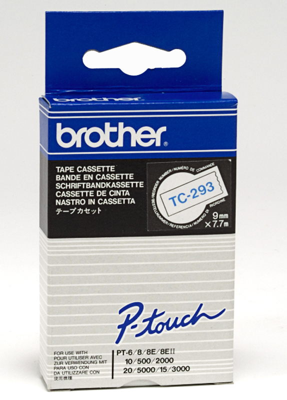 Brother TC-293 blauw