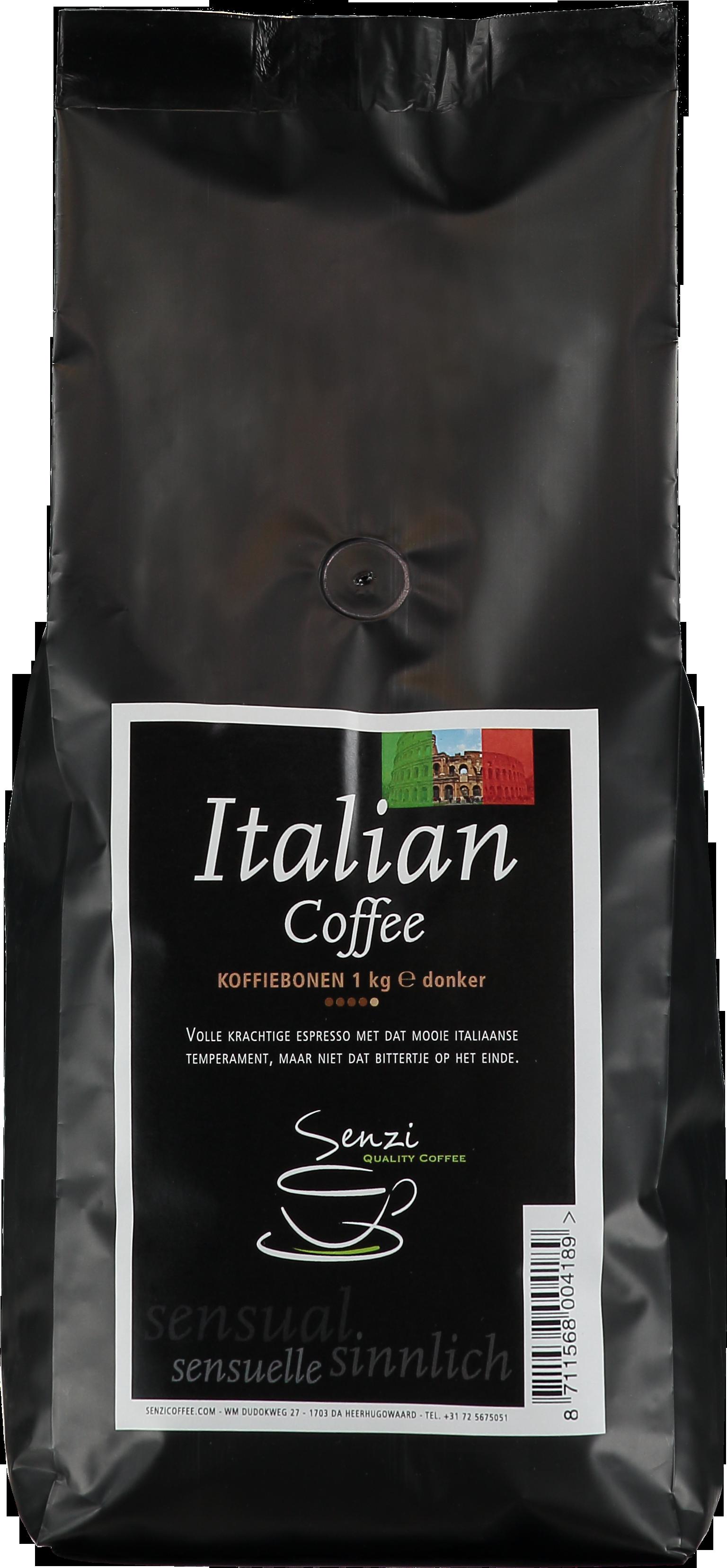 Senzicoffee Italian Koffiebonen