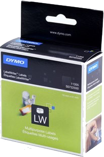 Dymo 11355 Multi functionele Labels wit