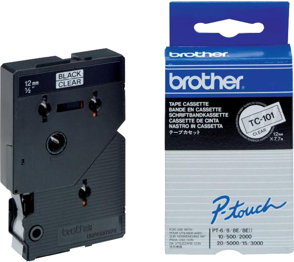 Brother TC-101 zwart