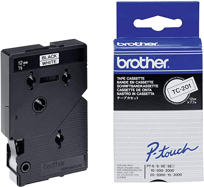 Brother TC-201 zwart