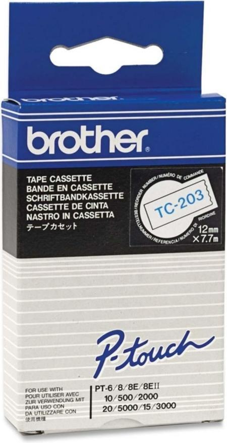 Brother TC-203 blauw