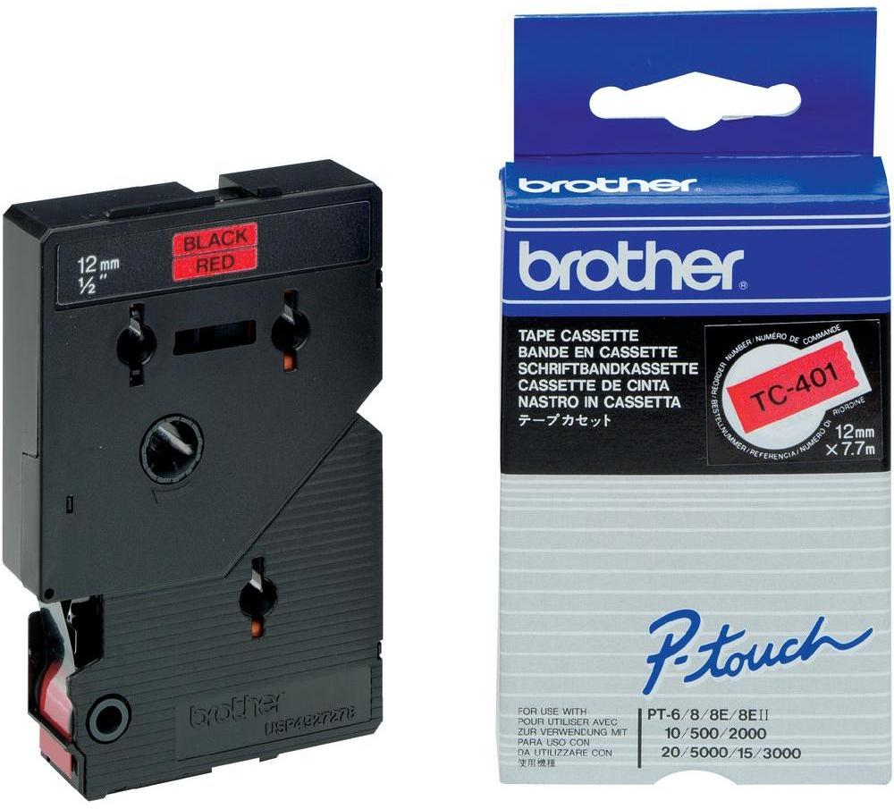Brother TC-401 zwart